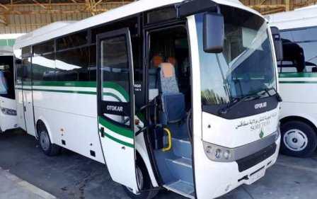 تعزيز أسطول النقل ب 15 حافلة صغيرة رفاهة
