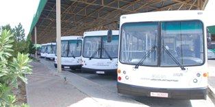 تعزيز أسطول الشركة بـ 10 حافلات جديدة